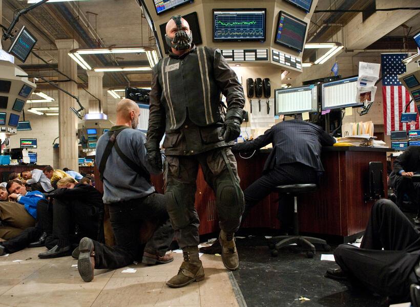 The Dark Knight Rises mit Tom Hardy