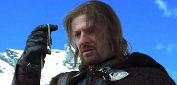Boromir ist vom Ring fasziniert