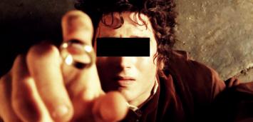 Bild zu:  Der Ringträger möchte nicht erkannt werden