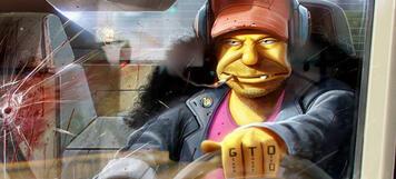 Otto, der Fahrer des Schulbusses in Die Simpsons.