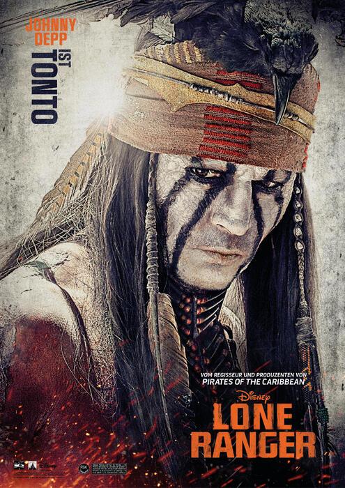 Lone Ranger mit Johnny Depp