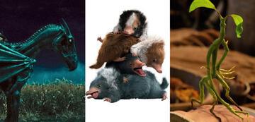 Phantastische Tierwesen: Thestral, Baby-Niffler, Bowtruckle Picket