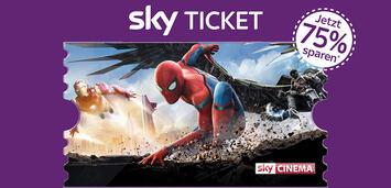 Bild zu:  Sky Cinema Ticket zum Bestpreis.