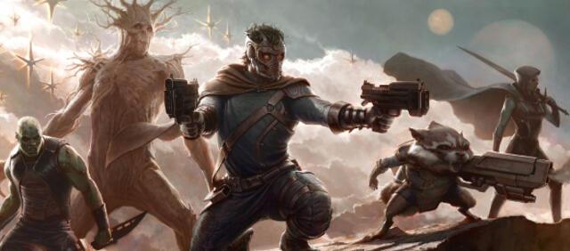 Concept-Art zu Guardians of the Galaxy