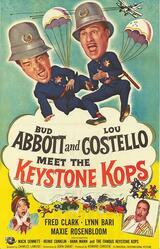 Abbott und Costello als Gangsterschreck - Poster