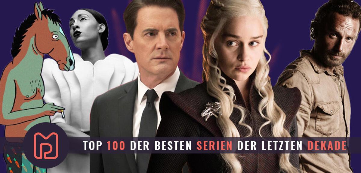 Die 100 besten Serien der letzten 10 Jahre