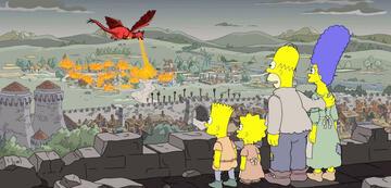 Die Simpsons im Fantasyreich