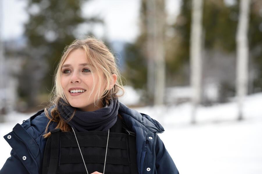 Wind River mit Elizabeth Olsen