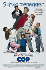 Kindergarten Cop - Poster