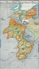 Carnival Row: Karte von Tirnanoc