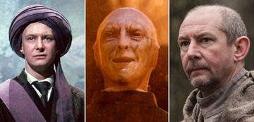 Voldemort: Ian Hart in Harry Potter 1 und The Last Kingdom