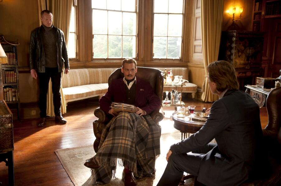 Mortdecai - Der Teilzeitgauner mit Johnny Depp, Ewan McGregor und Paul Bettany