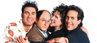 Kramer, George, Elaine & Jerry - Der Seinfeld-Cast