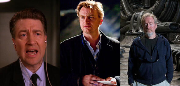 David Lynch, Christopher Nolan,Ridley Scott