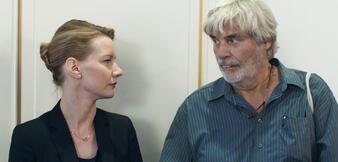 Toni Erdmann mitSandra Hüller undPeter Simonischek