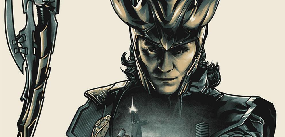 Loki auf dem Cover des Avengers 1 Steelbooks