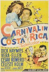 Karneval in Costa Rica - Poster