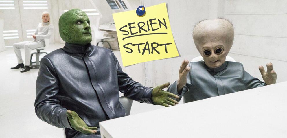 Bild zu People of Earth - Staffel 2 der Comedyserie startet bei TBS