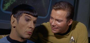 Bild zu:  Leonard Nimoy & William Shatner in Star Trek