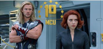 Bild zu:  Thor und Black Widow