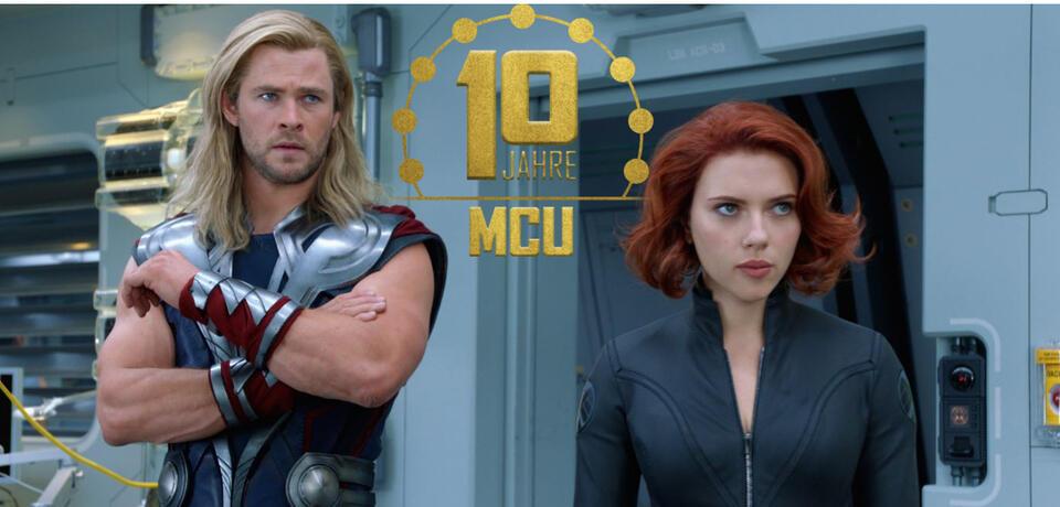 Thor und Black Widow