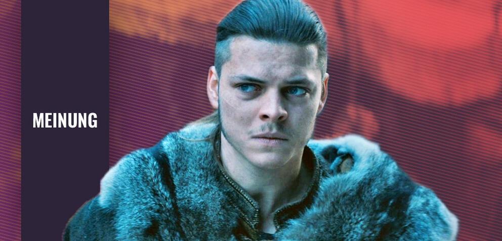 Vikings mitAlex Høgh Andersen als Ivar