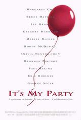It's My Party - Poster