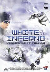White Inferno - Snowboarder am Abgrund - Poster