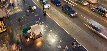 Bild zu:  Hollywood Boulevard vor dem Kodak Theatre