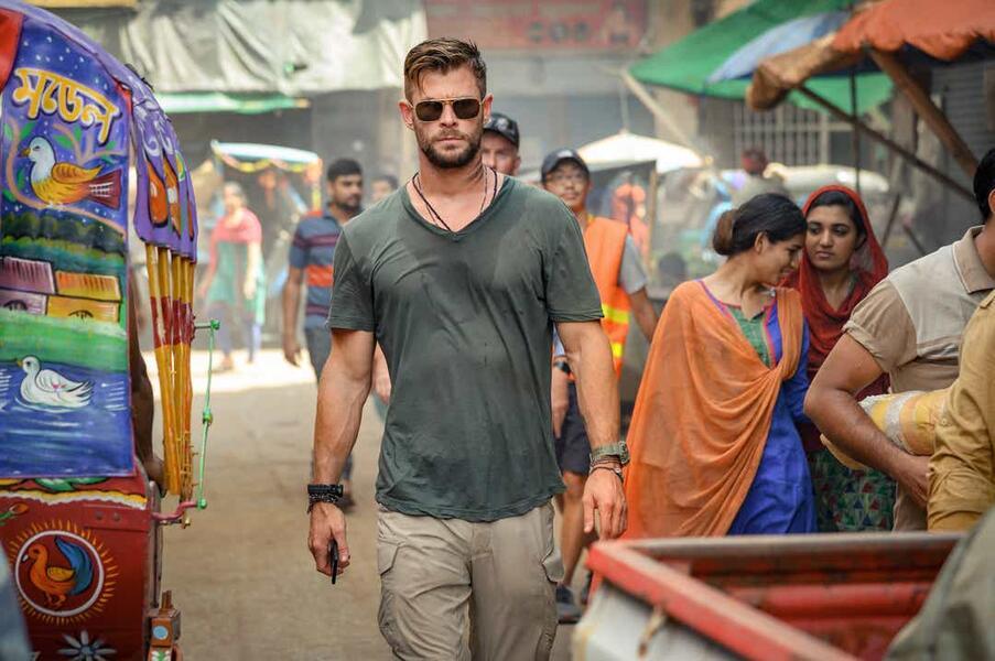 Extraction mit Chris Hemsworth