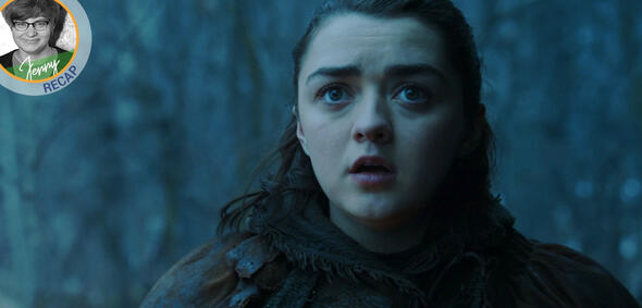 Auf dem Weg in den Norden: Arya in Game of Thrones