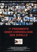 71 Fragmente einer Chronologie des Zufalls - Poster