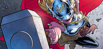 Jane als Mighty Thor