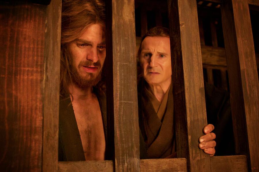 Silence mit Liam Neeson und Andrew Garfield