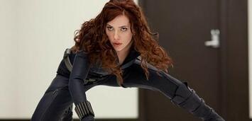 Bild zu:  Scarlett Johannson als Black Widow