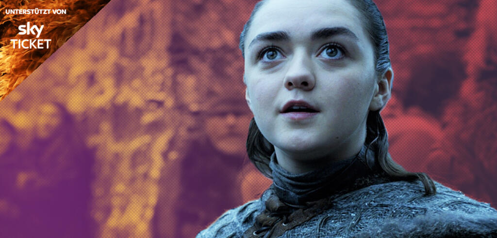 Maisie Williams als Arya in Game of Thrones