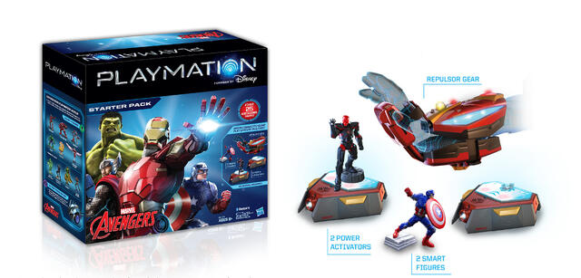 So sieht das Disney Playmation-Starterpack zu Marvels Avengers aus