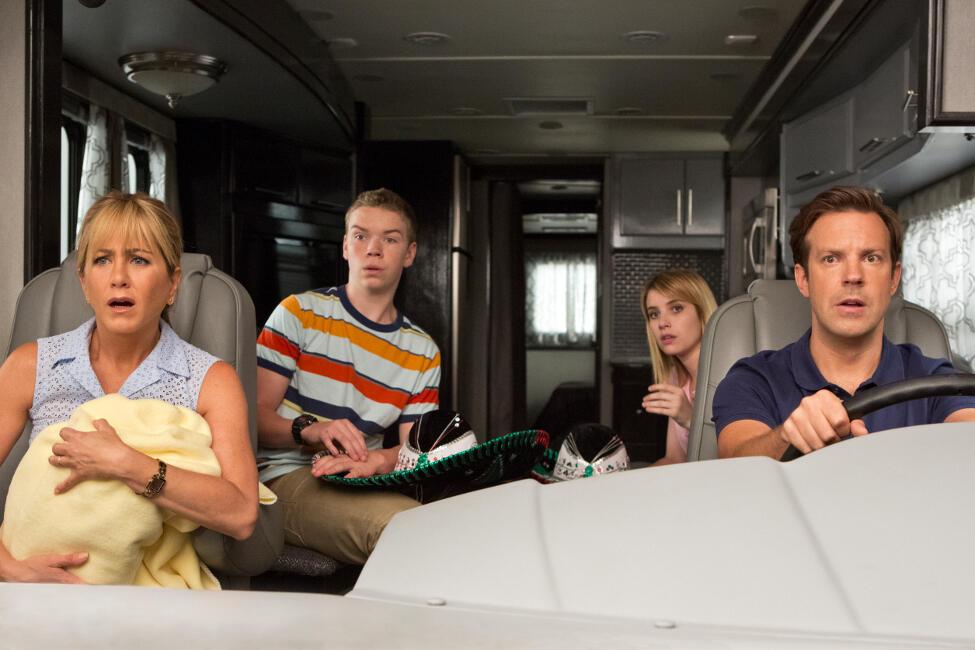 Wir sind die Millers mit Jennifer Aniston, Emma Roberts, Jason Sudeikis und Will Poulter