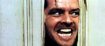 Jack Nicholson in einer unserer liebsten Rollen: John Torrance in Shining