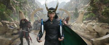 Tom Hiddleston als Loki in Thor 3