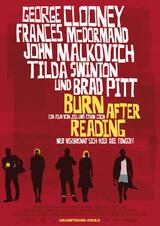 Burn After Reading - Wer verbrennt sich hier die Finger? - Poster