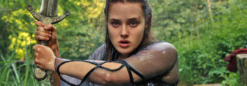 Katherine Langford in Cursed