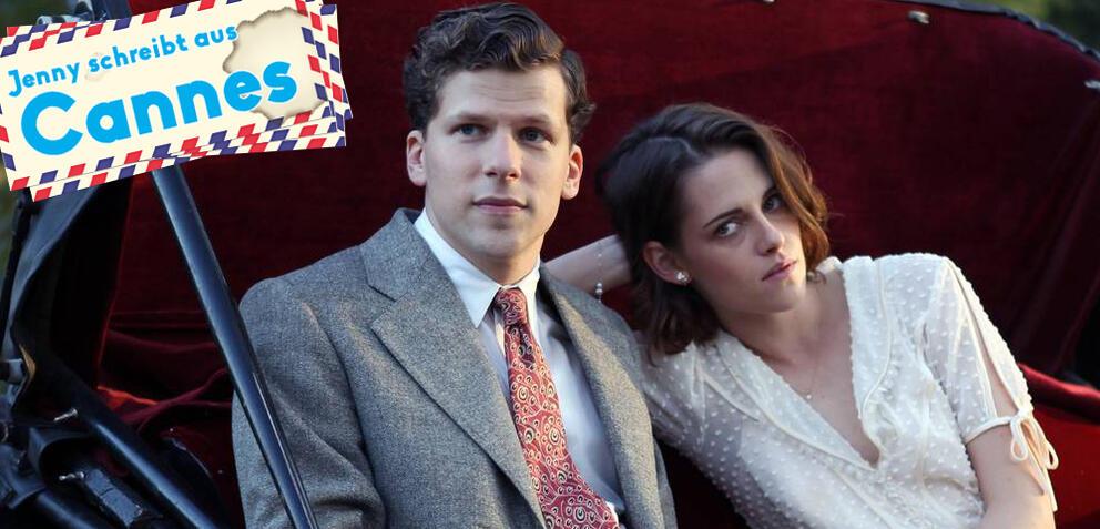 Café Society: Jesse Eisenberg und Kristen Stewart
