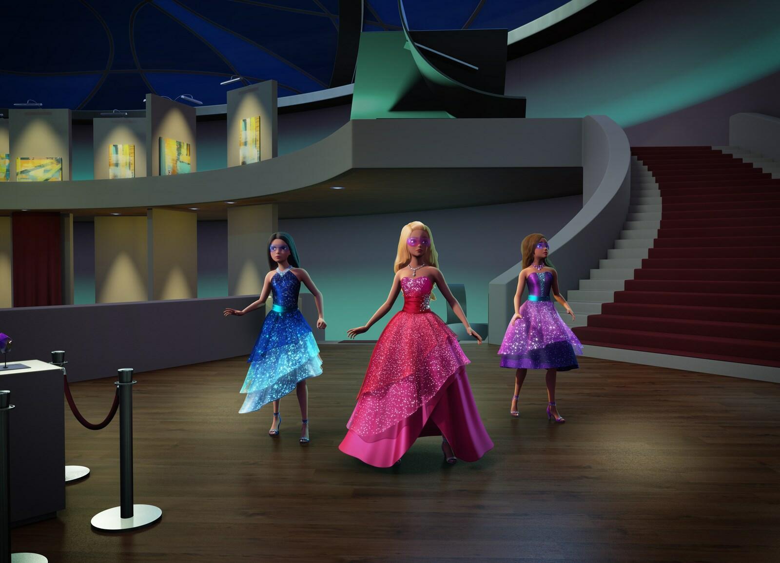 Barbie Agententeam Ausmalbilder : Barbie In Das Agenten Team Bilder Poster Fotos Moviepilot De
