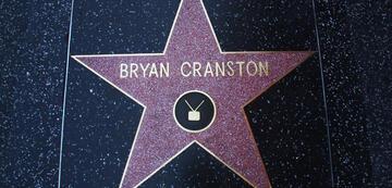 Bryan Cranstons Stern im Walk of Fame