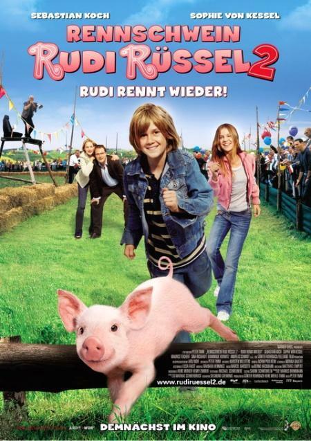 Rennschwein Rudi Rüssel 2 - Rudi rennt wieder