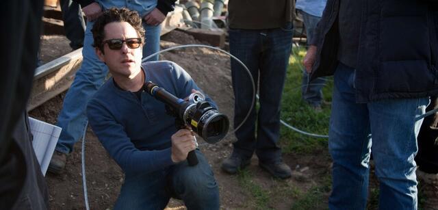 J.J. Abrams am Set von Super 8