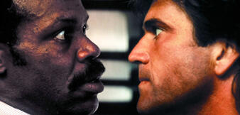 Mel Gibson & Danny Glover inLethal Weapon