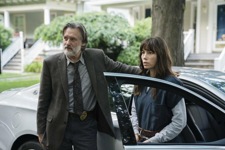 The Sinner - Staffel 1, The Sinner mit Jessica Biel und Bill Pullman