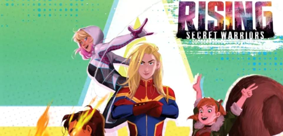 Plakat zu Marvel Rising: Secret Warriors